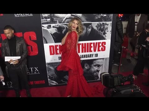 Dawn Olivieri at the Den of Thieves Premiere