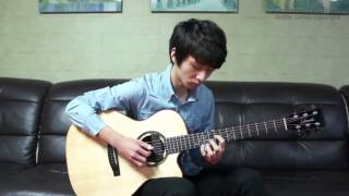 Yiruma) When The Love Falls   Sungha Jung Acoustic Tabs Guitar Pro 6
