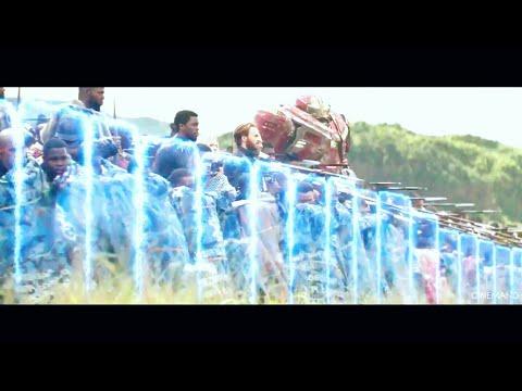 Wakandas Army vs Thanos , Wakanda battle of Avenger-infinity war