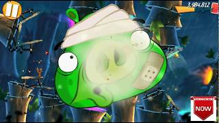 Beat The Daily Challenge King Pig Panic Completed in Angry Birds 2 sunday(2)