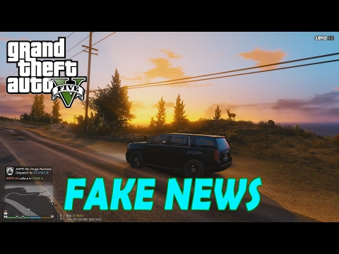 LSPDFR #8 - FAKE NEWS in Downtown Vinewood! | GTA 5 PC Gameplay