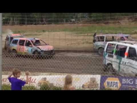 Mini Van Demo Capitol Speedway