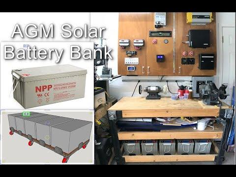 Solar AGM Battery Bank Transition