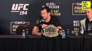 UFC 194: Luke Rockhold on if fight should've been stopped earlier