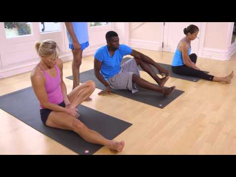 55 Minute Yoga Class with Sharath Jois