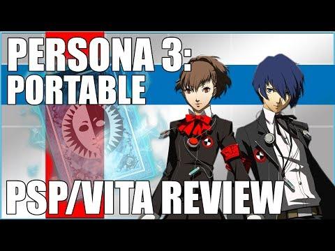 Persona 3 Portable - PSP - VITA - PSN Review - 720P
