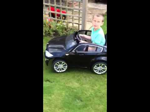 Bmw X6 Electric Kids Car 12v Youtube