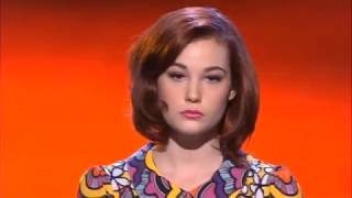 Xfactor 2012 Live Shows Bella Ferraro sings Don't You Let Me Go Tonight