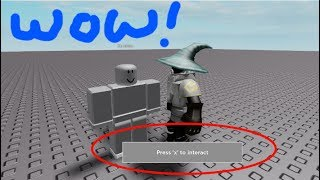 ROBLOX Tutorial: Creating an Interaction Menu for an NPC - Demo Included!