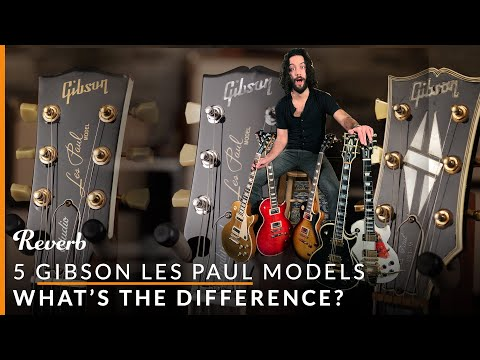 Gibson Les Paul Standard vs Studio vs Traditional and More: 5 LPs Explained    Reverb