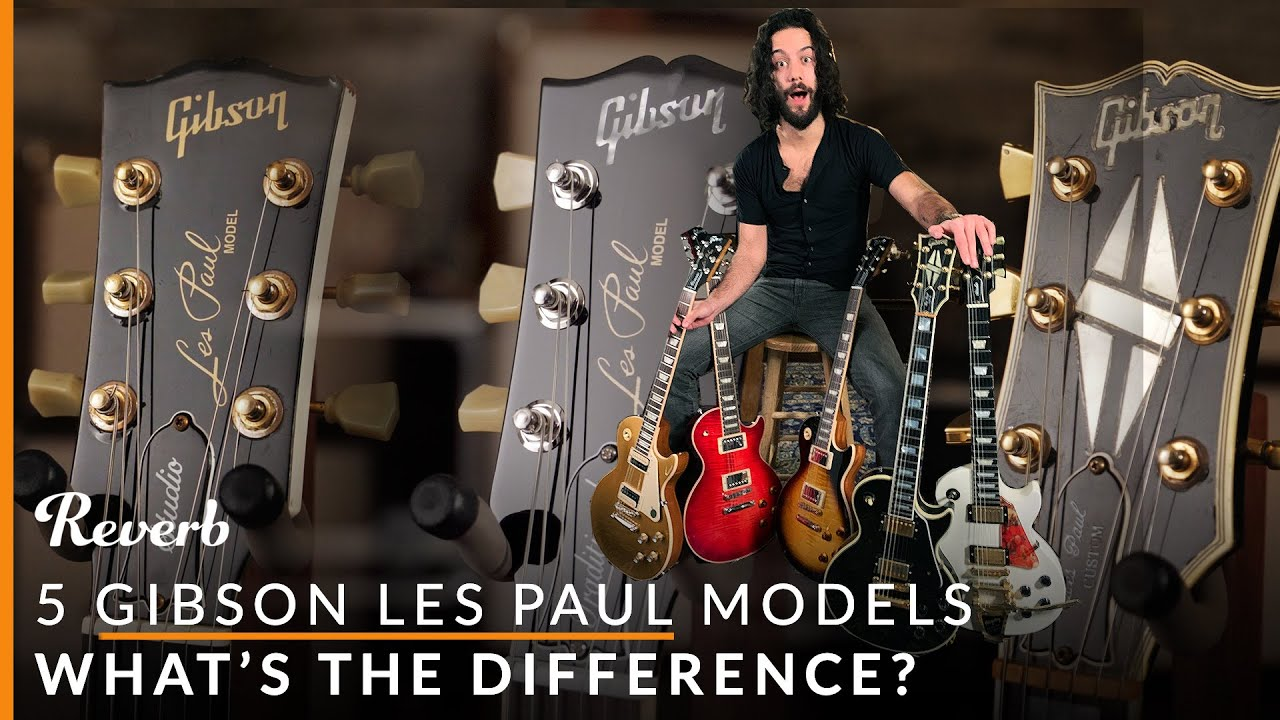 gibson les paul standard vs studio vs traditional and more 5 lps explained reverb youtube. Black Bedroom Furniture Sets. Home Design Ideas