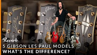Gibson Les Paul Standard vs Studio vs Traditional and More: 5 LPs Explained  | Reverb ギブソン 検索動画 40