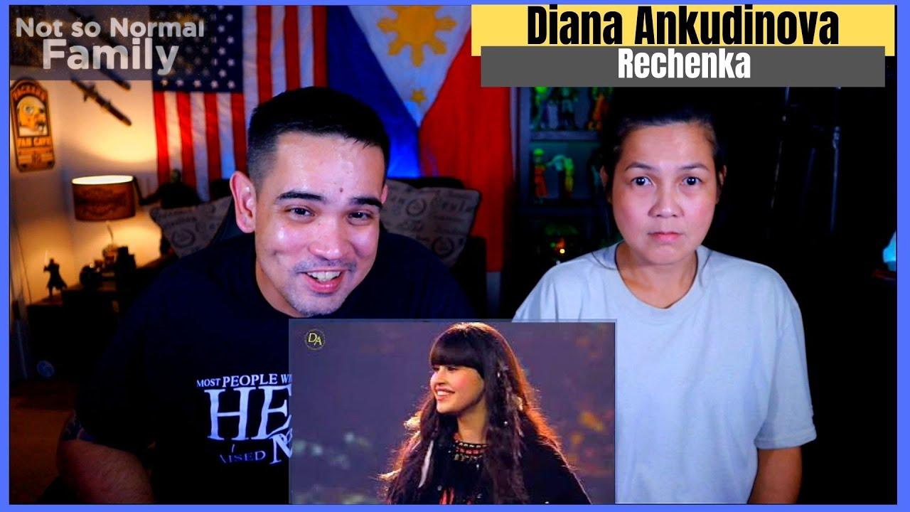 DIANA ANKUDINOVA Rechenka Filipino American Reaction