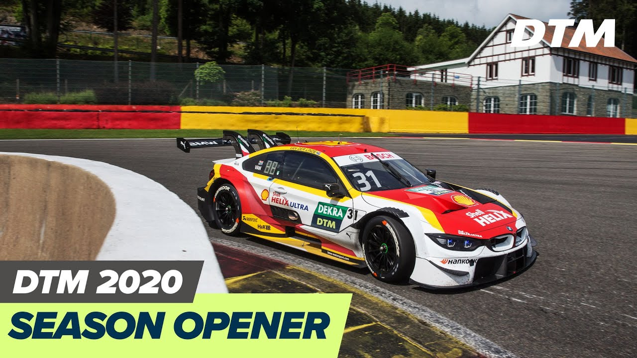 DTM is back on track: Season Opener Spa-Francorchamps 2020