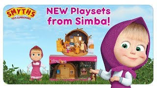 Masha and the Bear - NEW PLAYSETS AVAILABLE AT SMYTHS!
