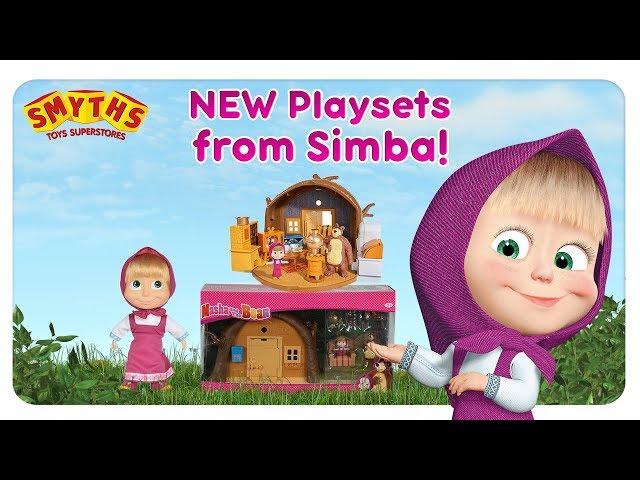 Masha and the Bear - NEW PLAYSETS AVAILABLE AT SMYTHS!