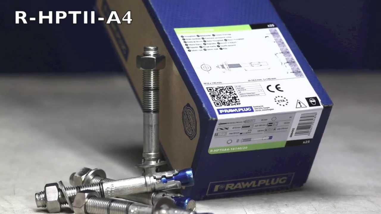 Rawlplug M12 1 A Expansion Boulon À Oeil Boulon d/'ancrage pour 10 A Curly fil d/'entrée Pince