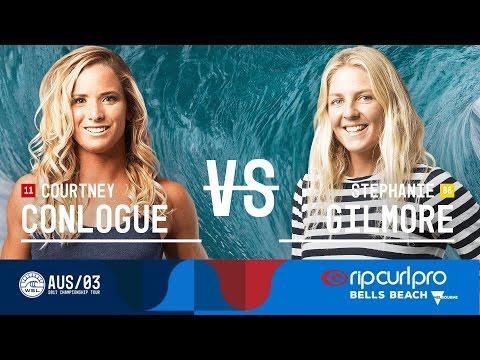 Courtney Conlogue vs. Stephanie Gilmore - FINAL - Rip Curl Pro Bells Beach 2017 (W)