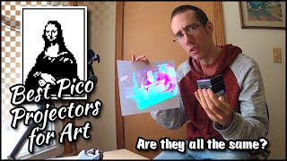 Best Pico Projector for Art  Are they all the same? ■ Tracing Masterpieces
