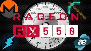 [Budget GPU] RX 550 Mining (XMR/ETN) Modding/Testing