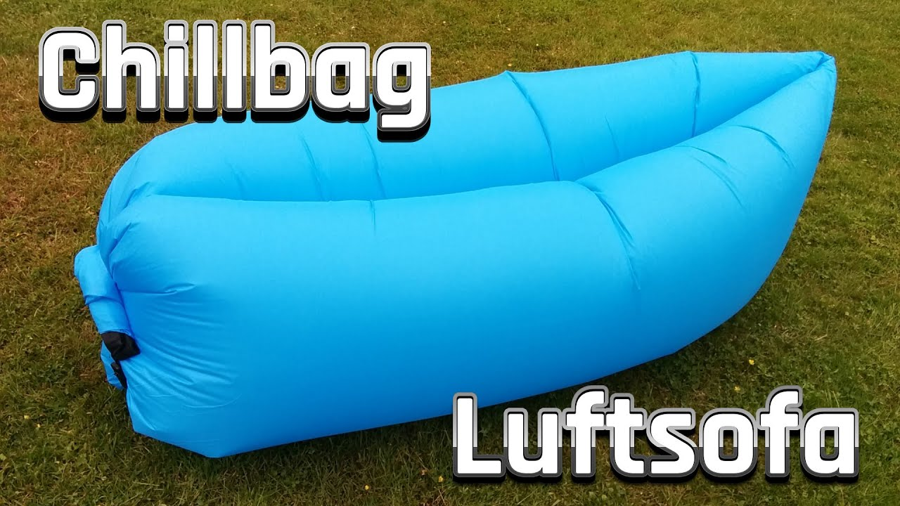 Laysack Luftsofa Chillbag Luftcouch Inflatable Beach Lounge
