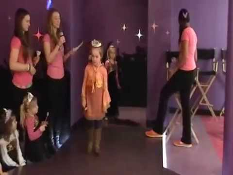 Lily's Birthday Party - Princess Procession