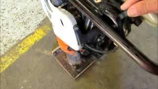 видео Все о вибротрамбовках от Multiquip
