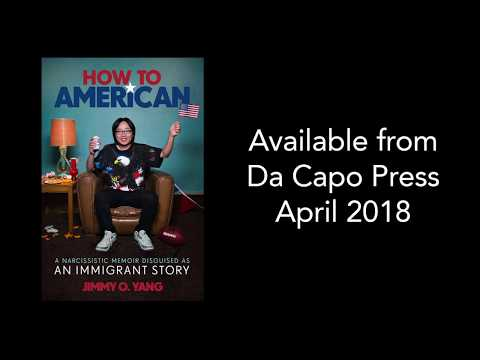 Jimmy O. Yang Introduces His New Book - HOW TO AMERICAN