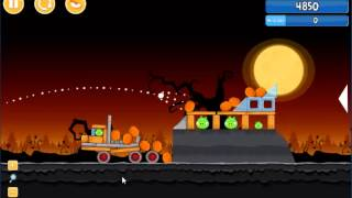Angry Birds trick or treat 3 Estrellas instancia de parte 3-4