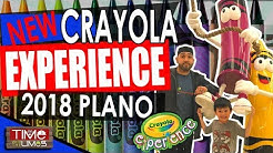 New Crayola Experience of Plano 2018