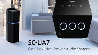 Panasonic SC-UA7 multidirectional speaker | Unique design with phenomenal power