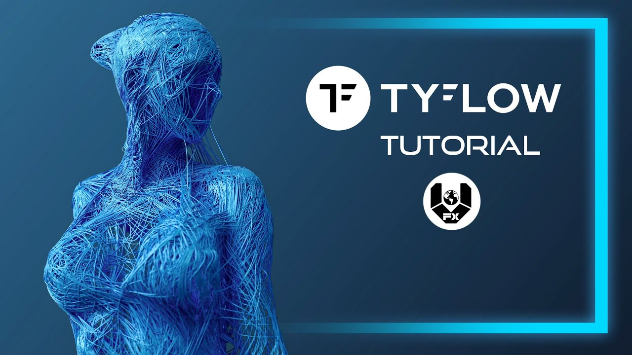 How to Form Models with Splines | tyFlow Tutorial in 3Ds Max