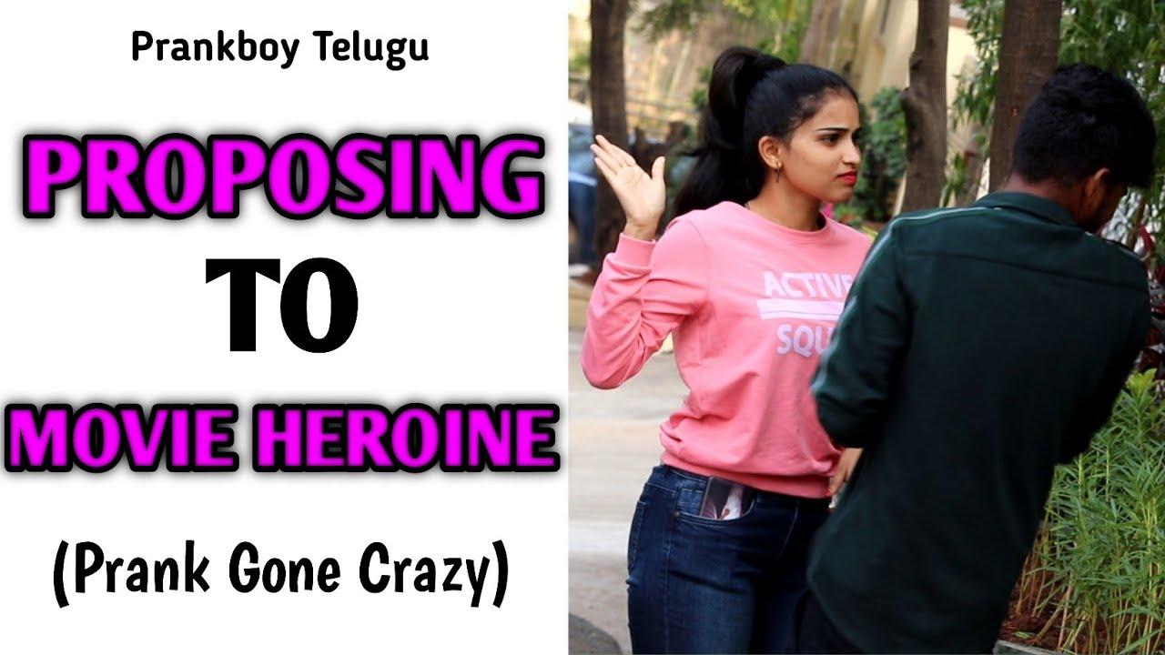 Download Next Level Proposing To A Heroine || Telugu Pranks || Prankboy Telugu