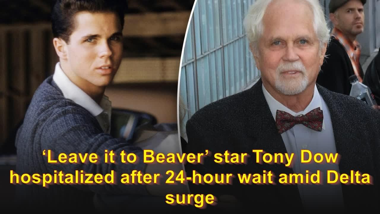 'Leave It to Beaver' star Tony Dow hospitalized after 24-hour wait ...