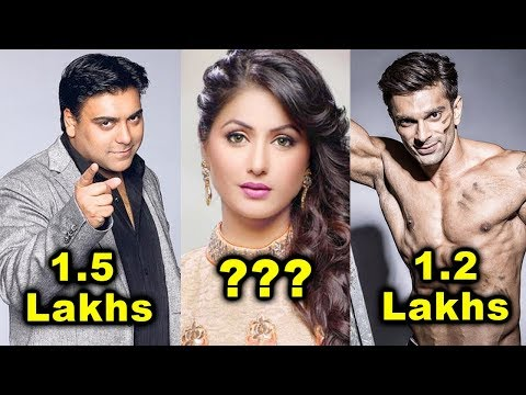 Top 10 Highest Paid Indian TV Actors - Per Day Salary