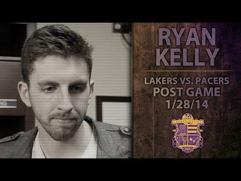 Lakers Vs. Pacers: Ryan Kelly Talks Defending Carmelo And David West, Kobe Bryant Injury