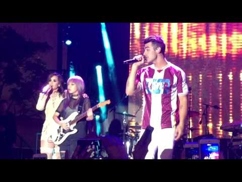 """DNCE and Demi Lovato """"Toothbrush"""" Marriott Rewards #YouAreHere Live"""