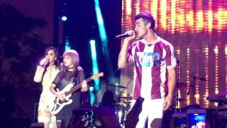 "DNCE and Demi Lovato ""Toothbrush"" Marriott Rewards #YouAreHere Live"