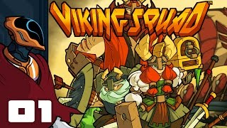Let's Play Viking Squad Multiplayer - PC Gameplay Part 1 - FIGHT EVERYTHING!