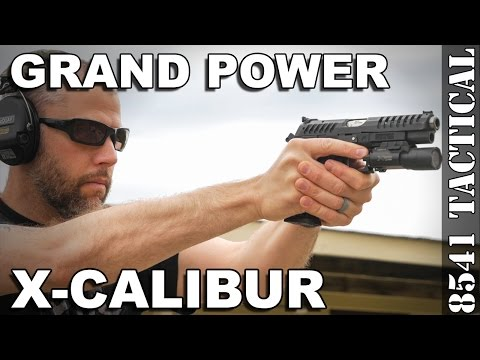 Eagle Imports, Grand Power X-Calibur 9mm Handgun Review
