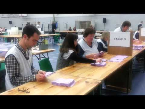 Shrewsbury election count