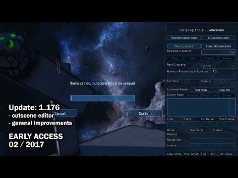 Space Engineers - Update 01.176 DEV - Cutscene Editor