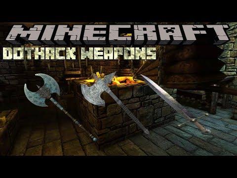 dothack-weapons-mod---minecraft-1.12.2-(mod-showcase)