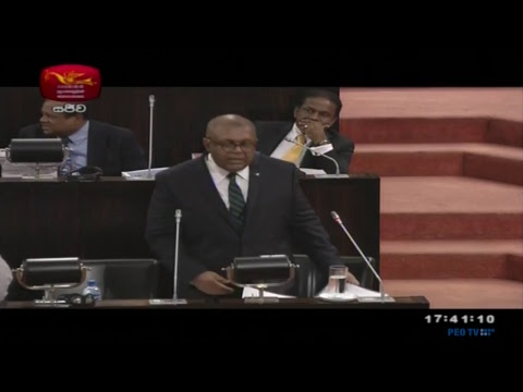 Government of Sri Lanka Budget 2018 Live - 1st Time Reading