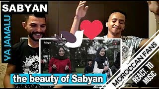 Arab React To | YA JAMALU Versi SABYAN feat (Annisa & El-Alice)-(English Sub) || MOROCCAN REACT