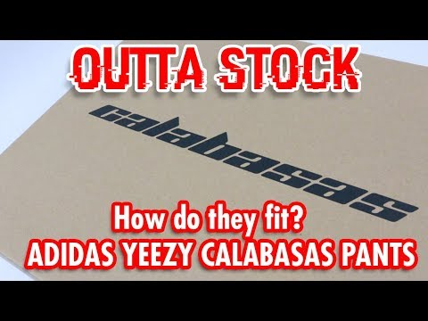 064bfd52ab395 How s it fit  Calabasas Pants Sizing - YouTube