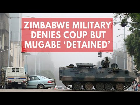 Zimbabwe crisis: Army denies coup, says President Mugabe is 'safe and sound'