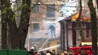 Пожар в кафе Цукерня(, 2015-04-17T11:45:36.000Z)