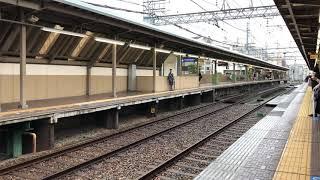 阪神電車1000系1207F 快速急行奈良行 芦屋駅