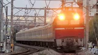 【JR東】E231系 中央総武線〝ミツB6編成 青森改造センターへ配給〟